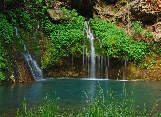 Natural Falls State Park Oklahoma Camping