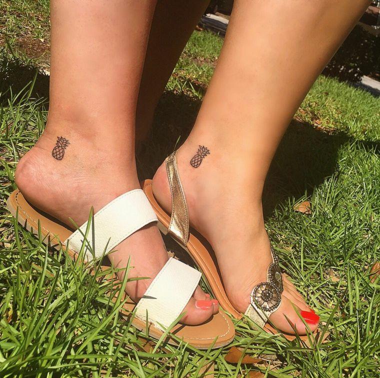 1001 + idee per tatuaggi piccoli femminili e dove tatuarli ...