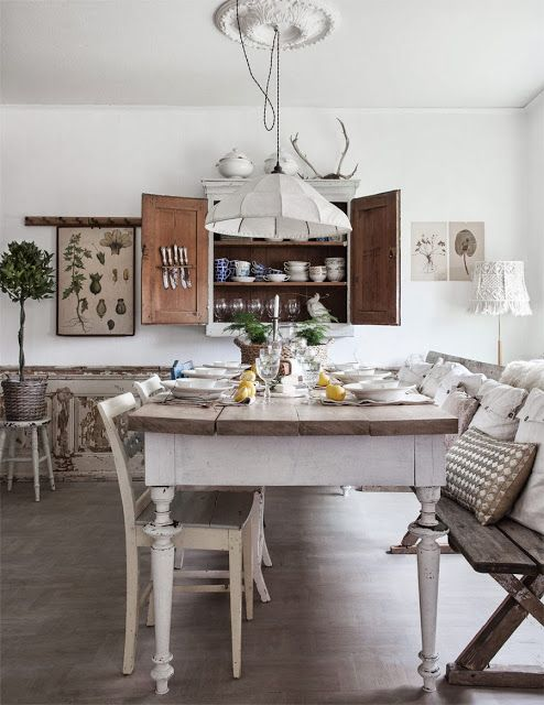 La Vie en Rose de Sami: Una cucina Shabby Chic | Dream Home ...