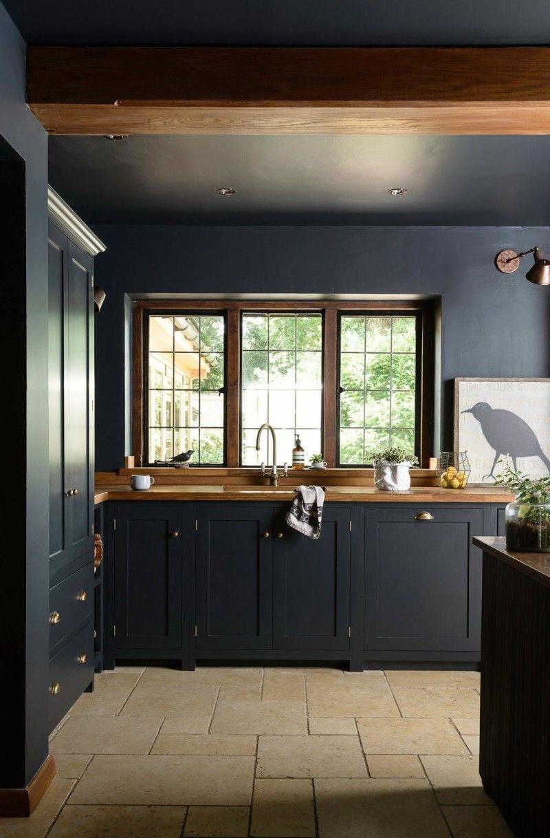 How To Brighten Up A Dark Wood Kitchen How To Decorate With Dark Kitchen Cabinets Interior Design Kitchen Dark Kitchen Dark Kitchen Cabinets