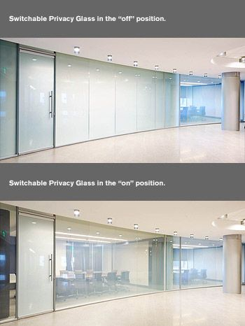 Switchable Privacy Glass Clear Or Private Glass