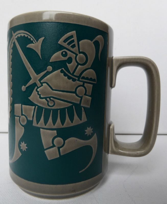 "Hornsea John Clappison ""George & the Dragon"" Mug"