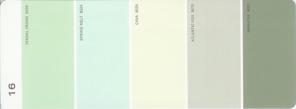 Feng Shui Color Palette