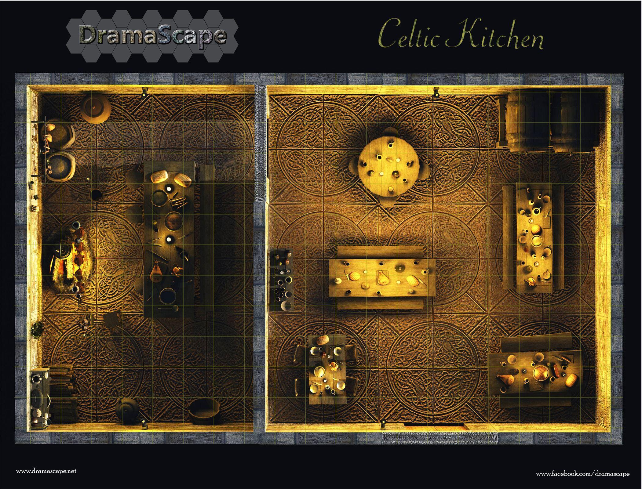 Celtic Kitchen By ~Digger2000 On DeviantART