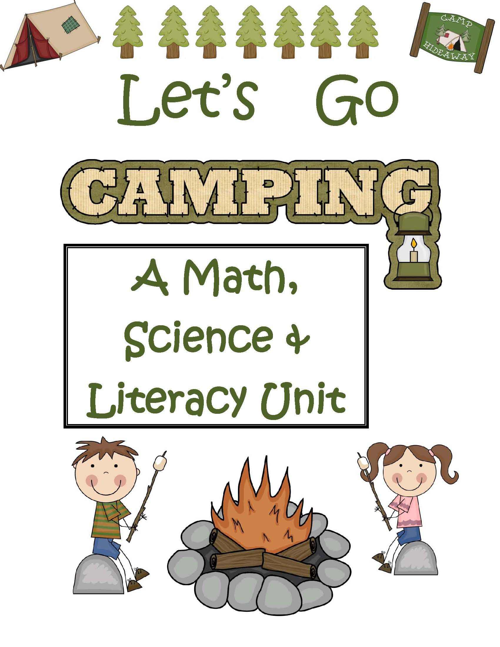 Themes End Of The Year Let S Go Camping Math