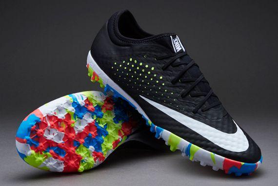 hot sale online ed12d f1bce Nike MercurialX Finale Street TF - Black/White-Volt-Black ...