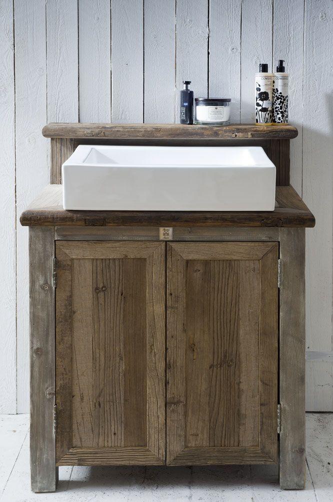 waschtisch#holz#natur | badezimmer | pinterest, Hause ideen