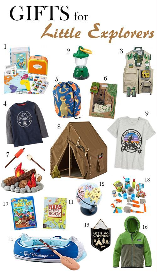 Best Christmas Gifts For Toddler Boys, Gifts for Little Explorers ...