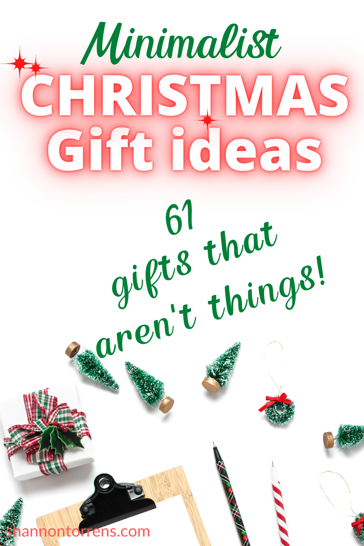 61 Minimalist Gift Ideas Minimalist Christmas Minimalist Gifts Christmas Gifts
