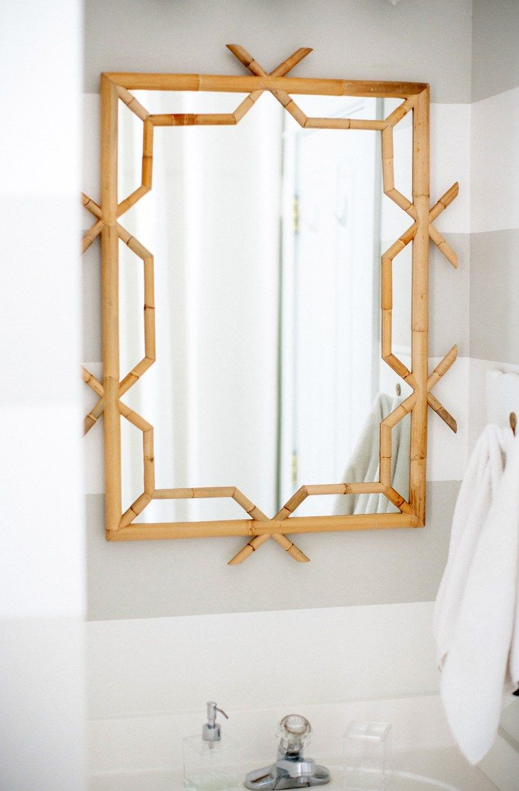 Our New Serena Lily Bathroom Mirror