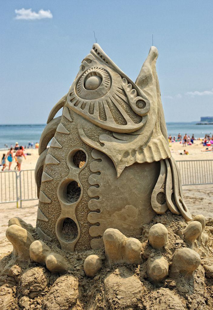 Beach Sand Sculpting Festival