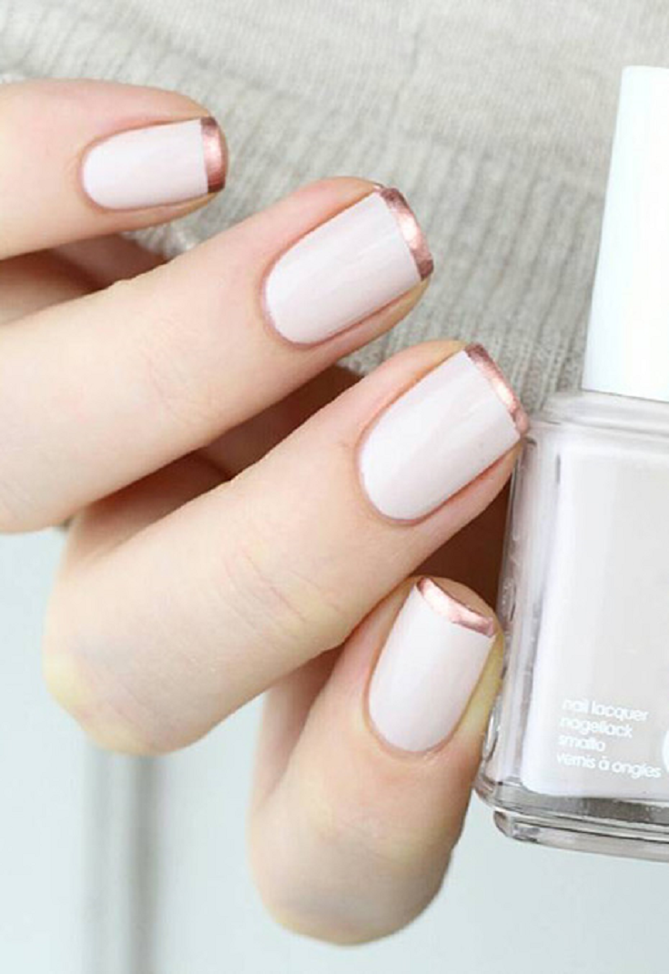 how to keep white shellac nails clean