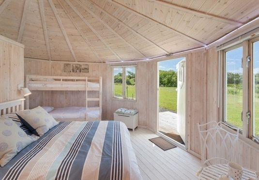 A Three Four Or Seven Night Cabin Stay In The North Devon Countryside With Cream Tea Bottle Of Fizz And Spa Treatment Nearby