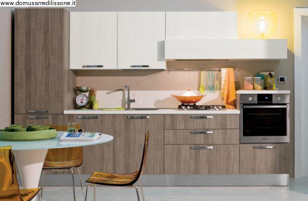 veneta Cucine modello Start Time composizione Lineare | Arredamento ...
