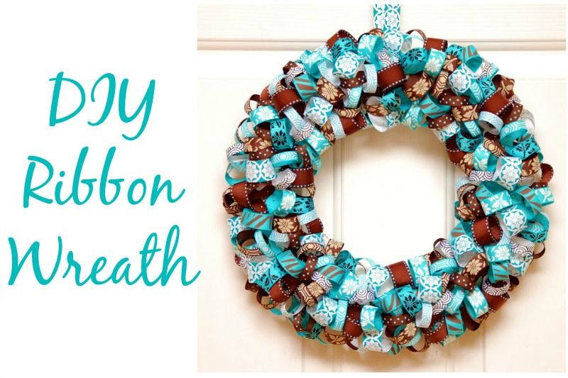 Photo of Christmas Wreaths Made From Ribbons And Bows – Christmas Do It Yourself