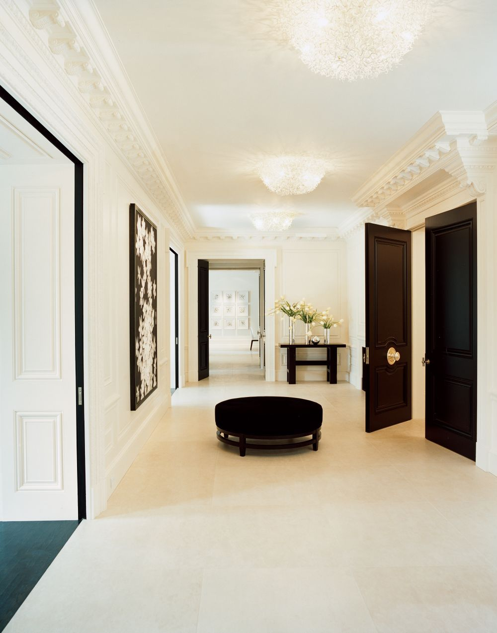 Modern Entrance Hall by Piet Boon and William O\'Neill in New York ...