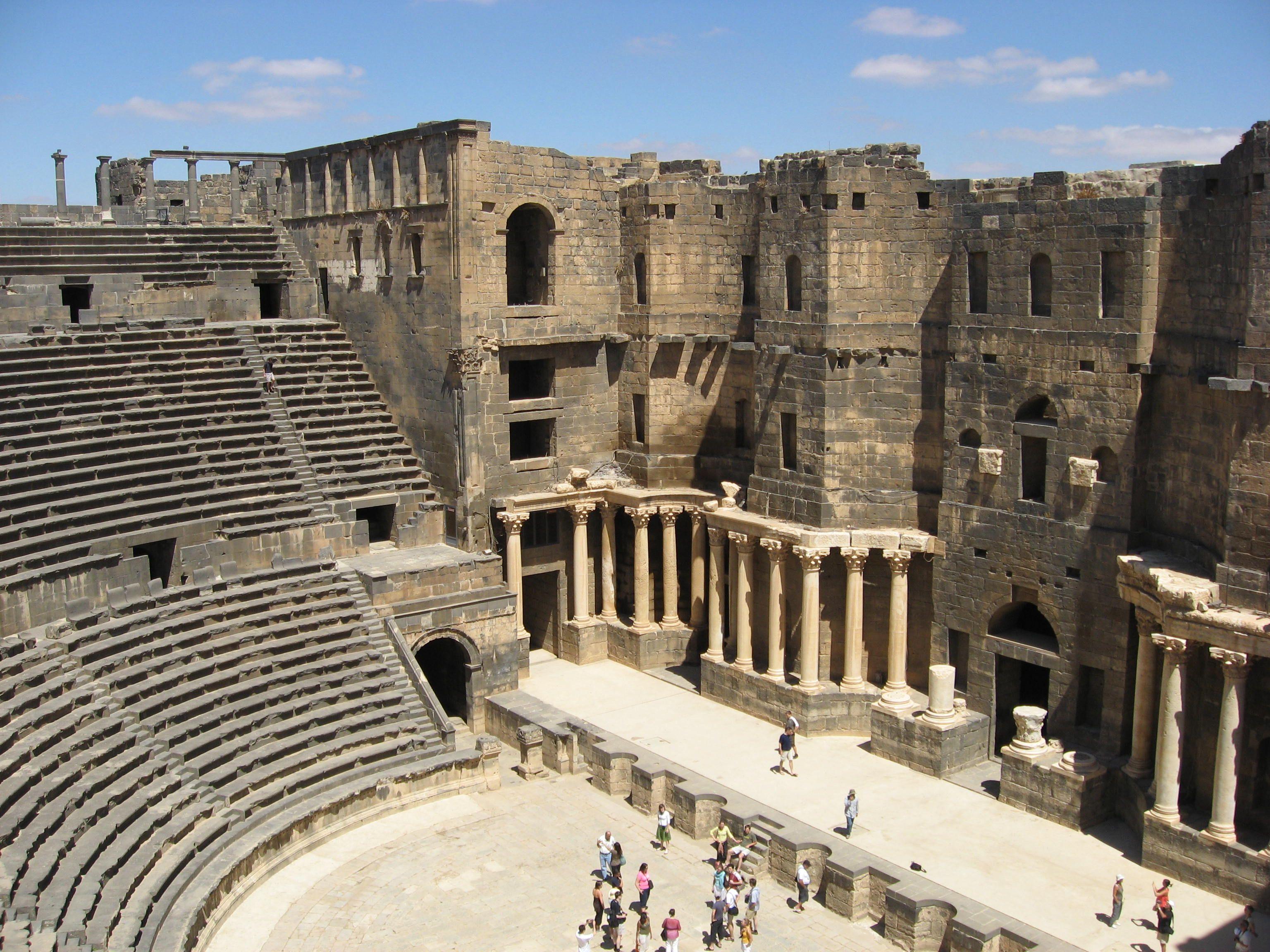 Exploring the ancient city of Bosra | Rome | ANCIENT ...