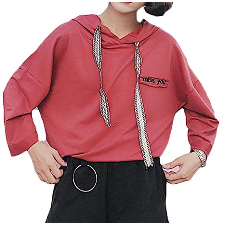 WSPLYSPJY Womens Hoodie Long Sleeve Drawstring Gradient Sweatshirt Pullover Tops with Pocket