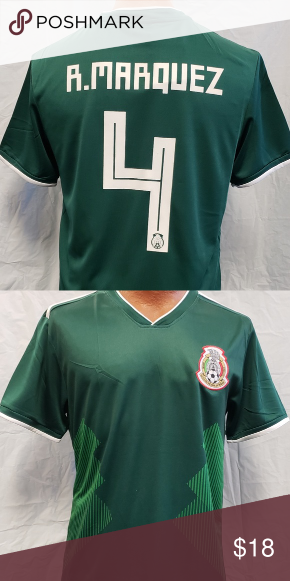 New R Marquez Mexico Soccer Jersey In 2020 Mexico Soccer Jersey Mexico Soccer Soccer Jersey