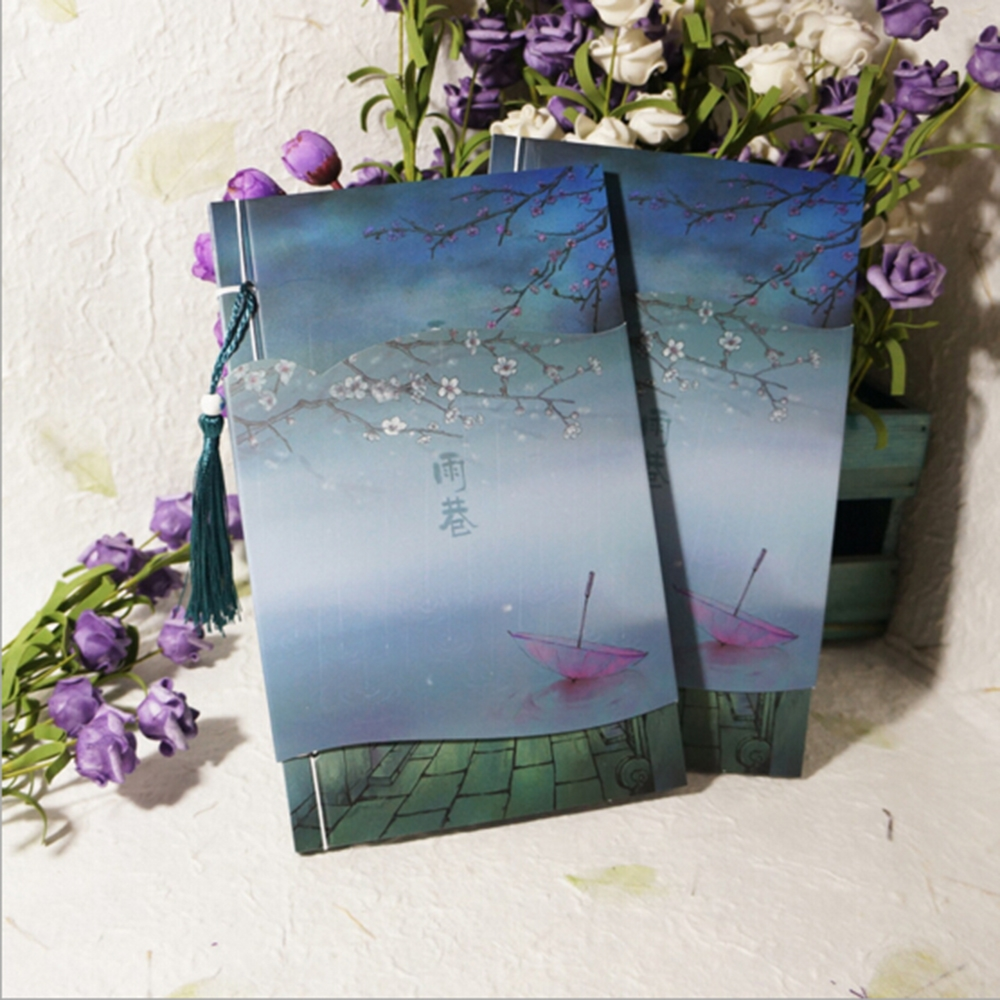 11.01$  Buy here - [ Watercolor]  Chinese Style Retro Artistic Handworking Gift Delicate Planners Vintage Beautiful Collection Organizer Notebook  #SHOPPING