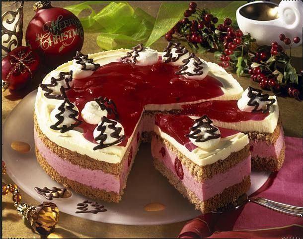 Himbeer-Lebkuchen-Torte Rezept | LECKER #tortenrezepte