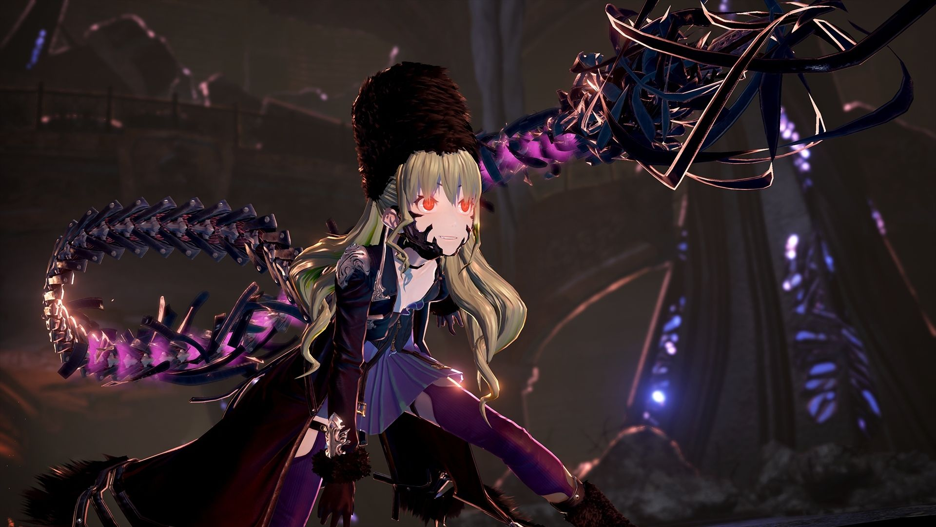 Awesome Code Vein Girl Character Game 1920x1080 Wallpaper Anime Style Coding Dark Souls