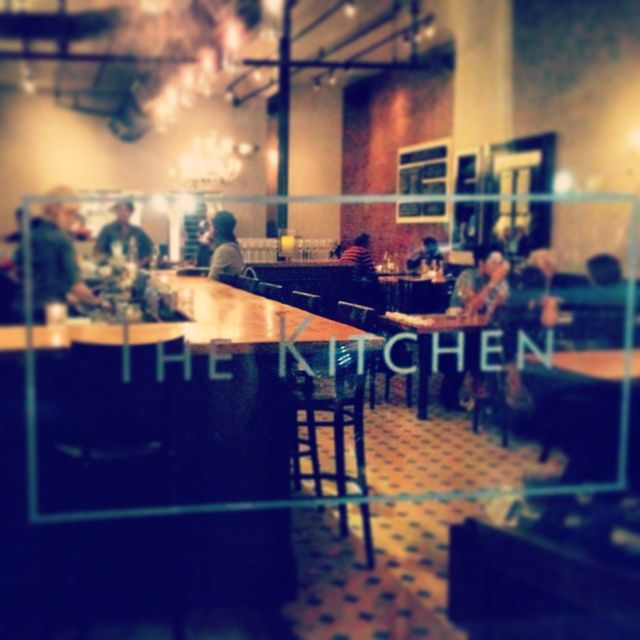 The Kitchen, #boulder #Colorado. Late afternoon meal with the staff ...