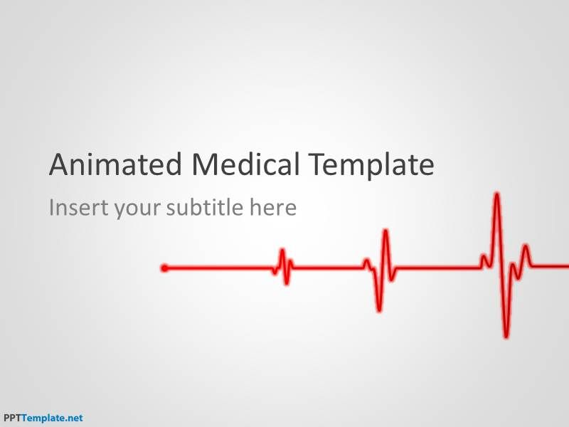 Free Animated Medical Ppt Template  Illustration
