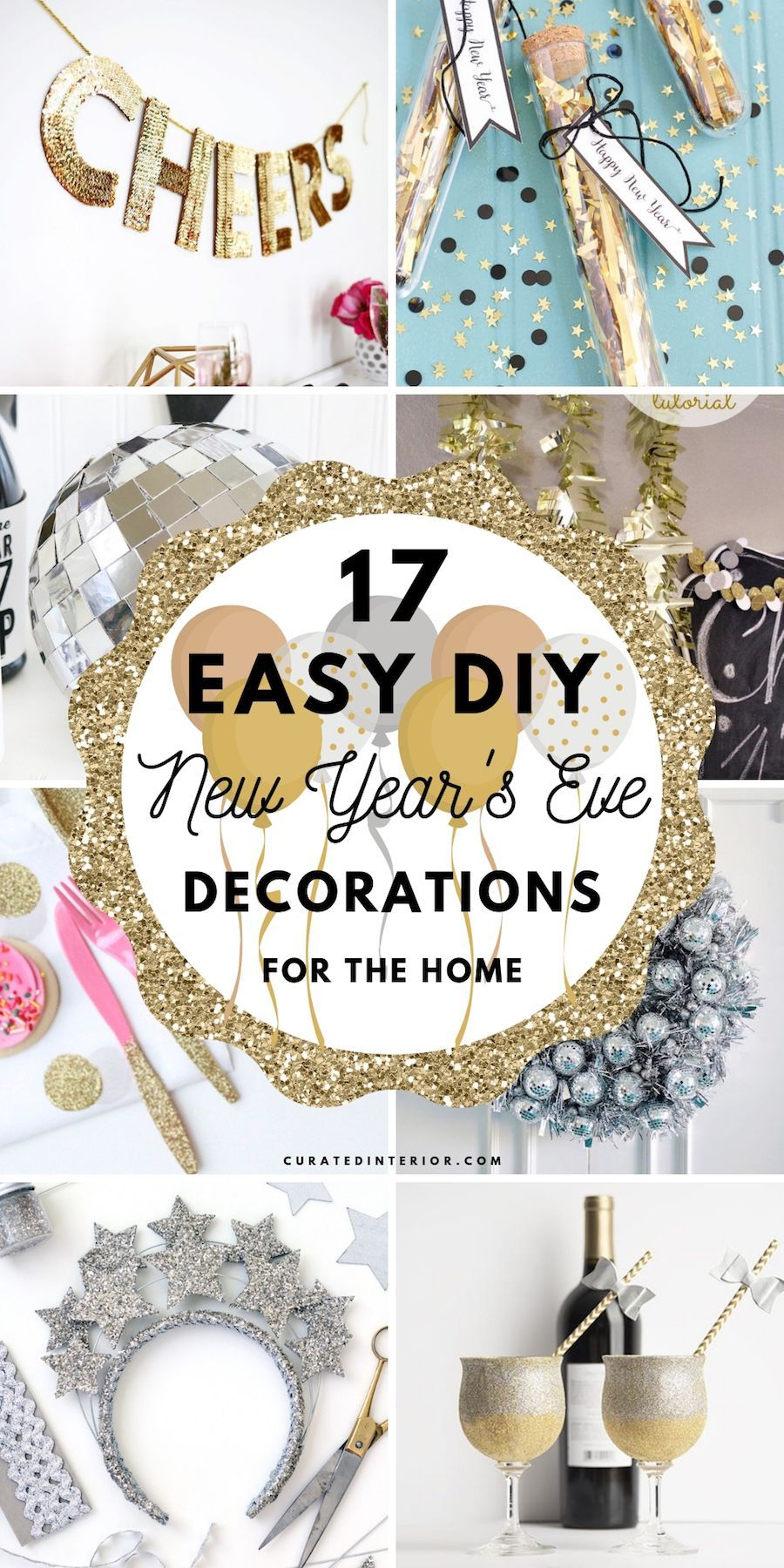 17 Easy DIY New Year's Eve Decorations | Diy new years eve ...