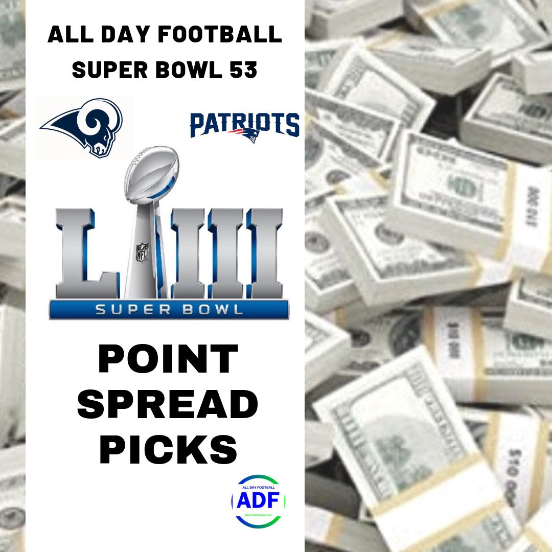Pin on 2018 NFL Point Spread Picks