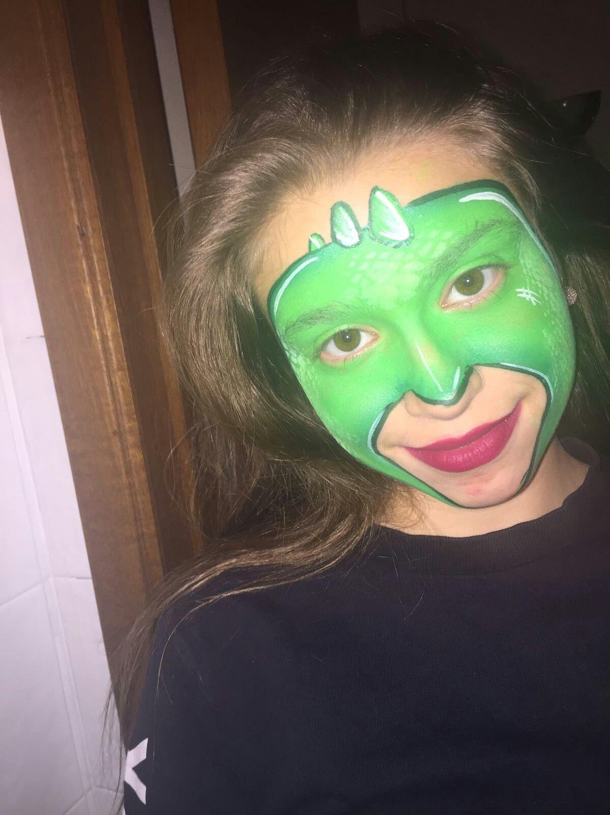 Gecko Face Paint : gecko, paint, Costumes