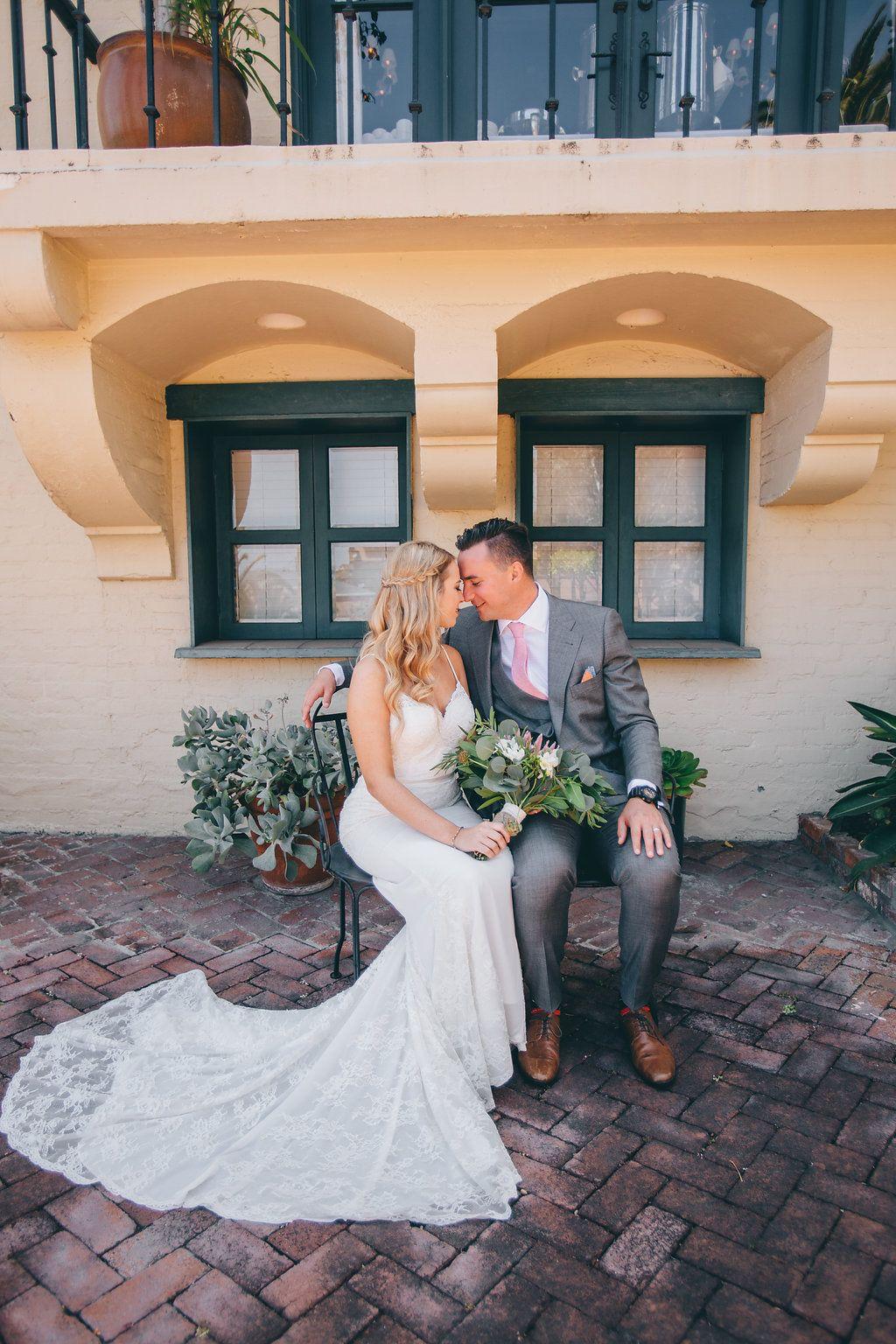 Catalina island brunch wedding wedding portraits brunch