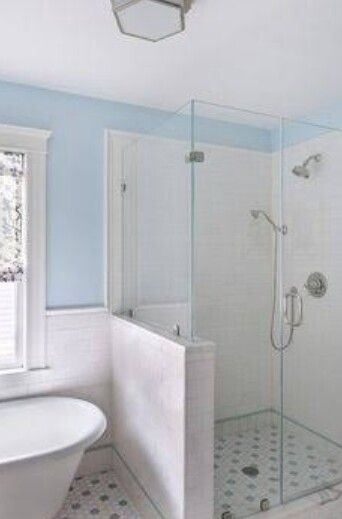 Attic Shower Glass