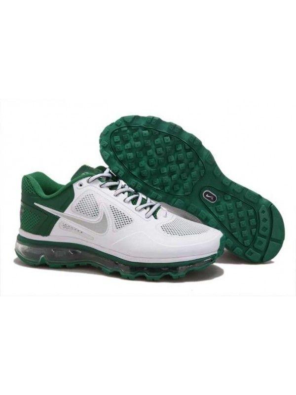 new product 49129 685d1 Nike Air Max 2013 Herr Grön Vit SE055076