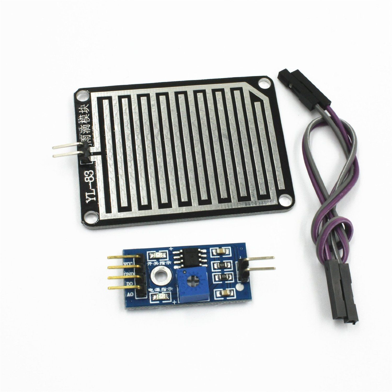 Arduino Rain Detector Module Http Amzn To 2rsugjx Capteurs Arduino Arduino Gadget