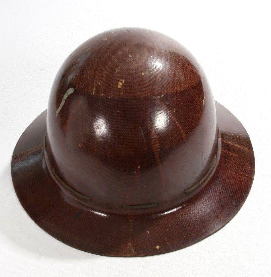 Vintage MSA Skullgard Miners Safety Helmet Hard Hat Full
