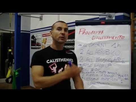 creare programma di allenamento