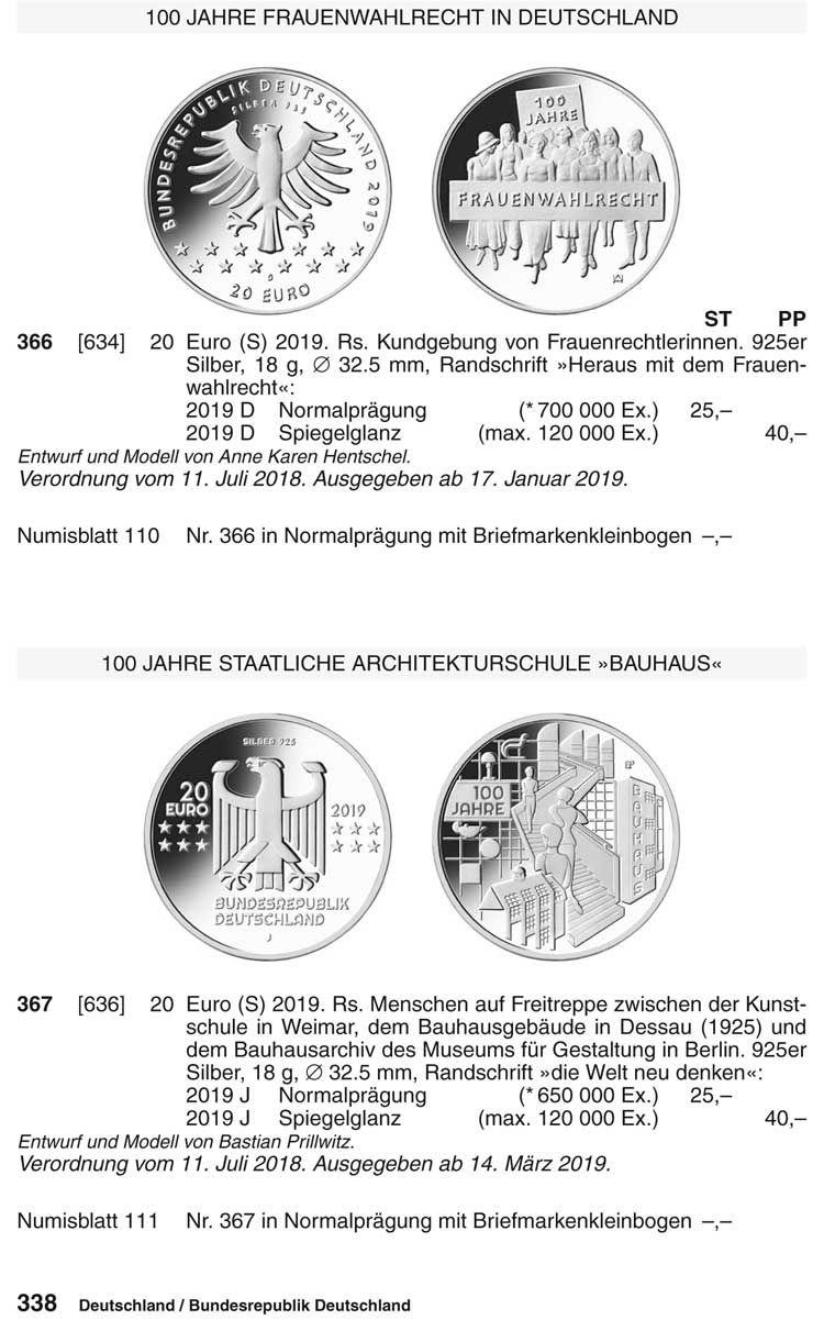 münzkatalog deutschland