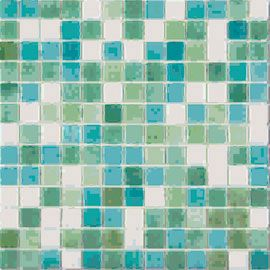 Mosaique Emaux Nieblas Leon Antiderapant 33 X 33 Cm Verre Recycle Tuile De Verre Emaux De Briare