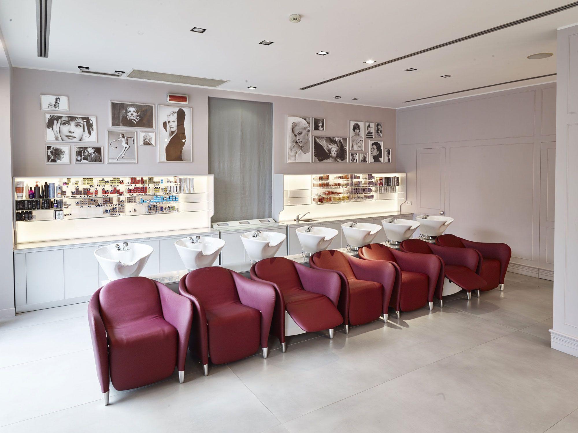 Maria C Wash Unit Salon De Coiffure Coiffures Modernes Salon