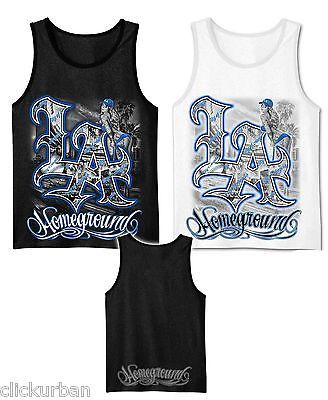 ed5c79cdcab78 Mens-Graphic-Tank-Top-LA-city-view-with-a-Girl-White-Black-M-2XL Homeground graphic  tank streetwear