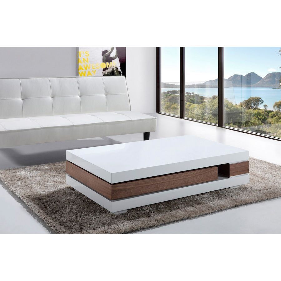 Add Simplistic Style To Your Living Room Decor With This Artsy Coffee Table.  Designed With