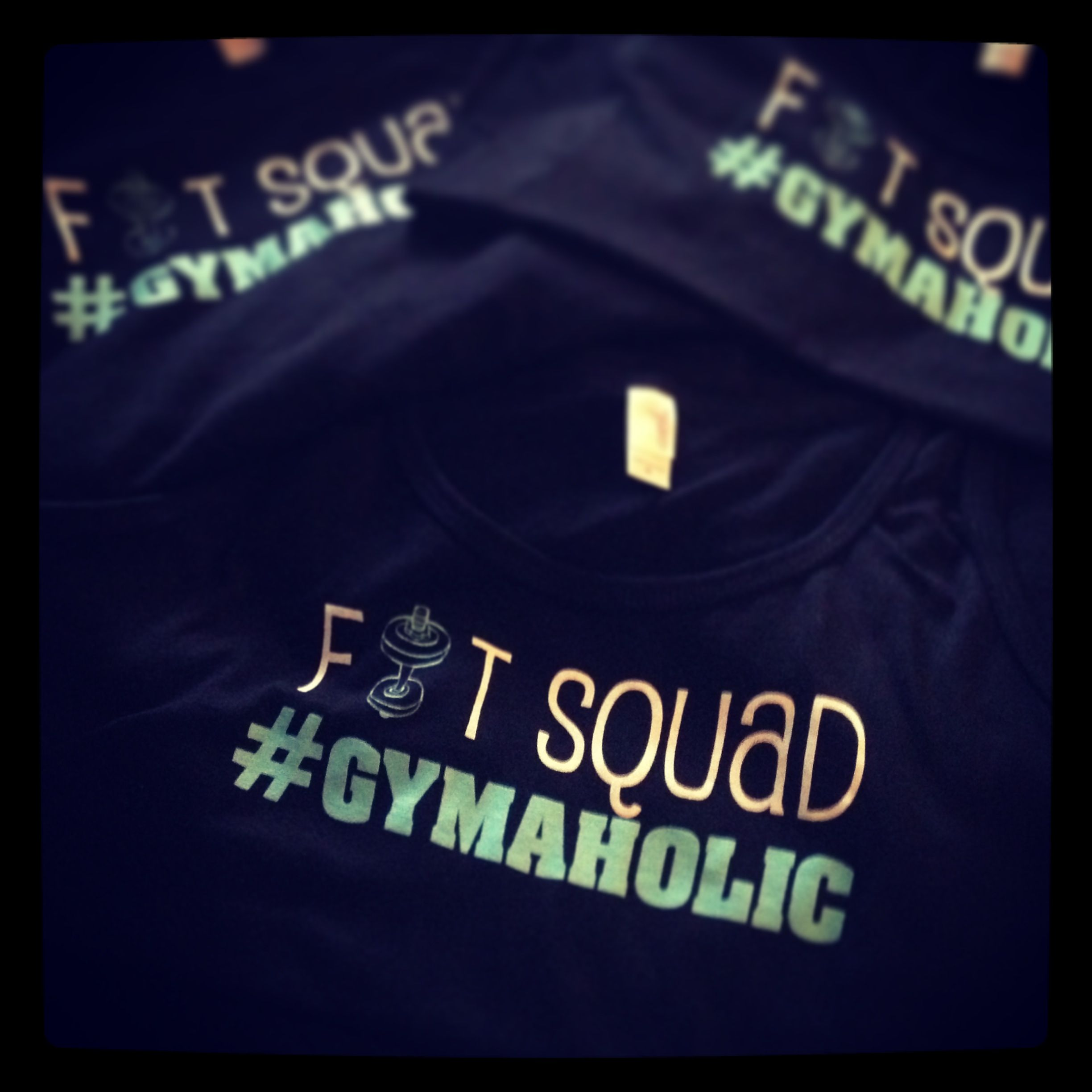 Gym workout #gymaholic tank top just $15 fitsquadclothing@gmail.com
