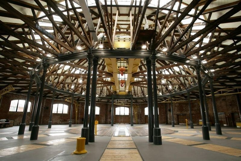 The Roundhouse In Derby Part Of College But Also A Great Venue For Weddings And Special Occassions