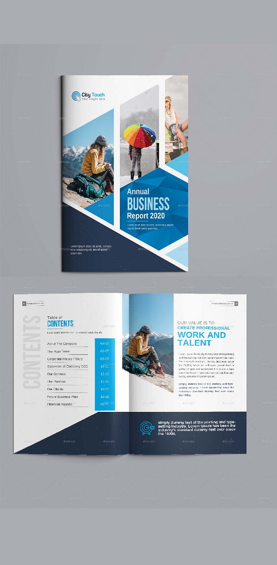 Brochure A4 Size 16 Pages Photoshop Brochure Design Templates Brochure Design Layout Brochure Design Template Brochure Design