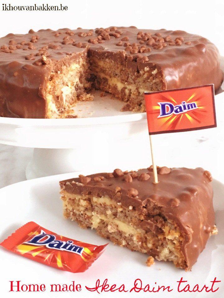 daim taart ikea Home made Ikea Daim taart, Ikea Daim taart, Almondy taart,Daim  daim taart ikea