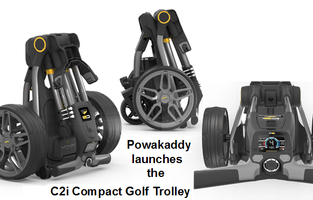 Powakaddy launches the C2i Compact Golf Trolley (With