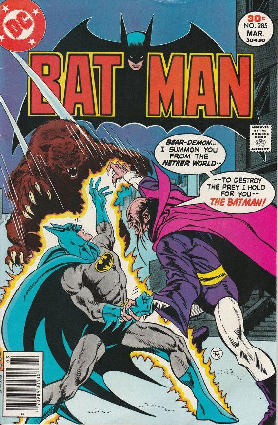 Batman Vol. 38 No. 285  1977 by TheSamAntics on Etsy