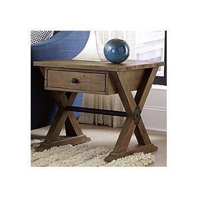 Hammary Reclamation Place End Table