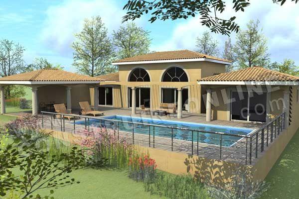 Plan de maison traditionnelle - Bienvenue dans le modèle CALANQUE
